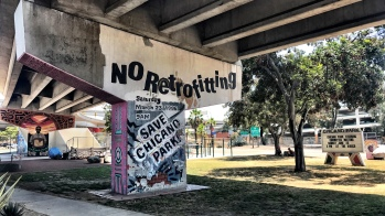 Save Chicano Park! Saturday March 23, 1996 2pm