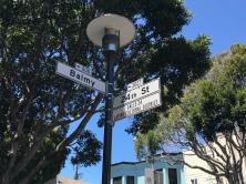 Balmy Alley Street Sign