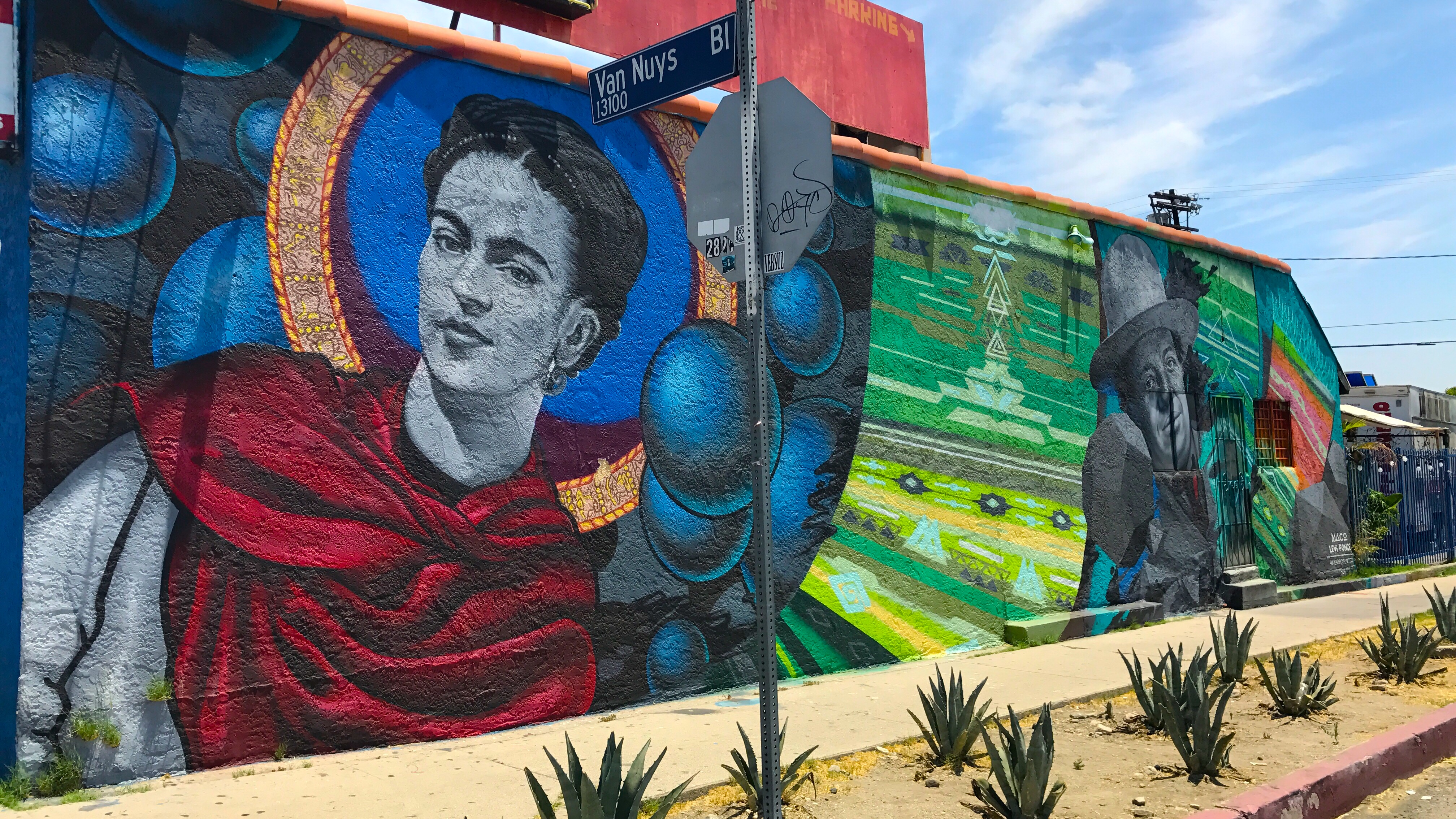 Los Angeles Mural Mile A Pacoima Arts Revolution Writing Is Thinking